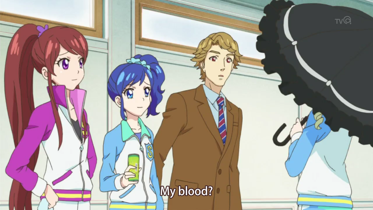 The only person who can suck Dio-sama's blood is Yurika-sama