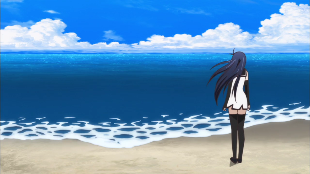 Apparently this is the same ocean as the Lucy-washing-up ocean.