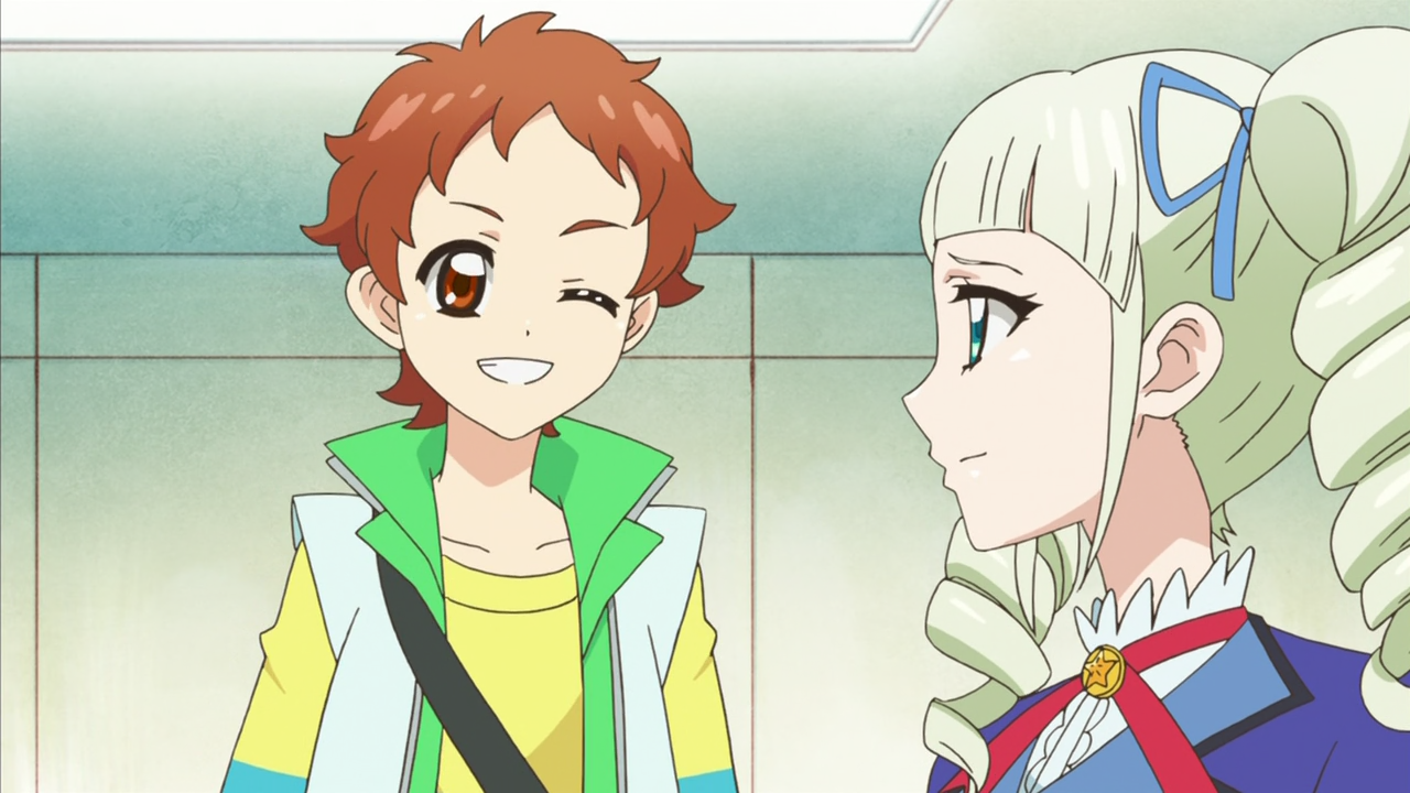 He's the same age as the idols were at the beginning of Aikatsu