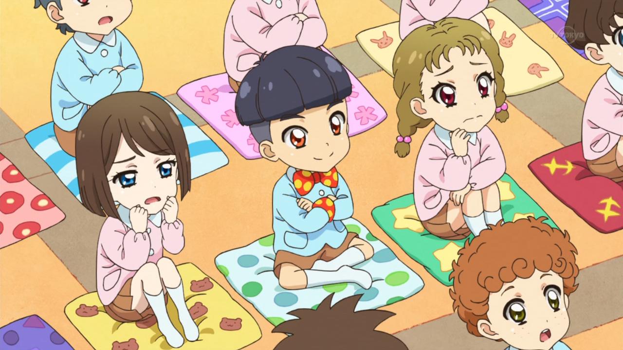 Me and my friends watching Aikatsu