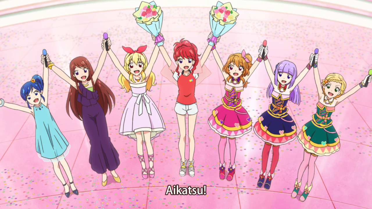 Our Aikatsu will continue forevermore!